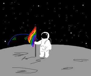 Astronaut is gay