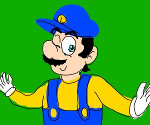 Blue Luigi/ Blueigi