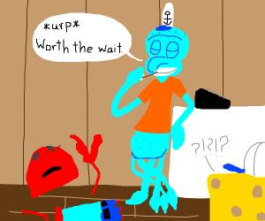 spongebob vore (pls don't kill me)
