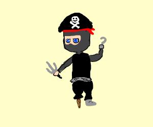 Awesome Chibi ninja pirat