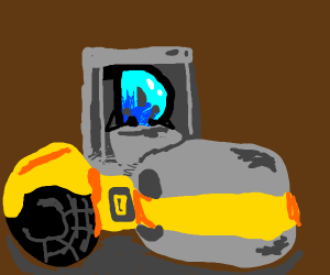 have a roadroller.