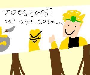 DIO's Joestar Extermination Services Ad