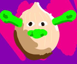 shronion (Shrek onion)