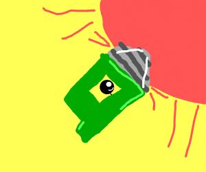 drilling into the sun
