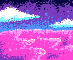 Lavender Ocean