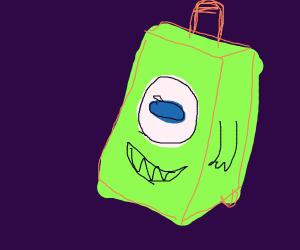 mike wasowski suitcase