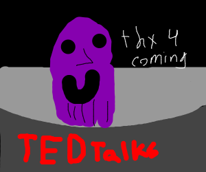 Thanos thanks you for coming to his TED Talk