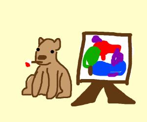 Artistic Capybara
