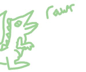 Dino goes rawr (not OwO)