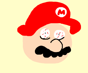 Mario on drugs