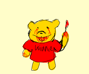 Winnie the poo trick or treating