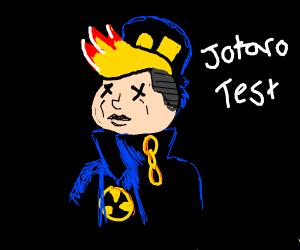 Jotaro Test dies