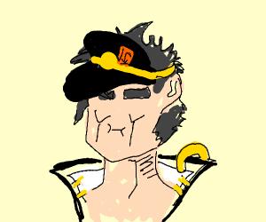 How does Jotaro's hat work?