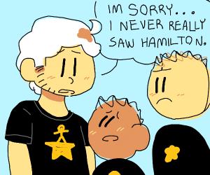 Man apologizes to Hamilton fans