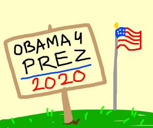 Vote Obama 2020