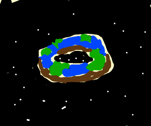 EARTH DONUT!!!