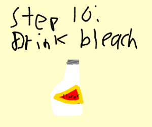 step 9: spit out the soap, it s not good