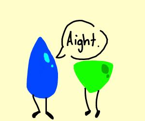Lapis and Peridot