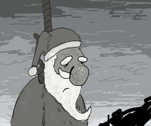 santa commits suicide circa 1943