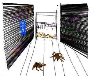 Tarantula in a Store
