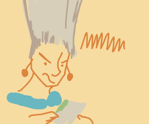 Polnareff playing a Gameboy