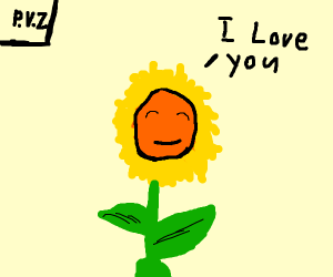 (Plants vs. Zombies) Sunflower loves you