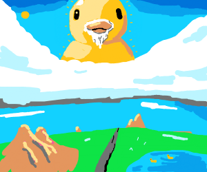 Holy duck