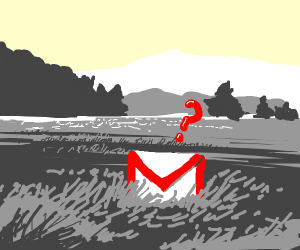 gmail lost in a field