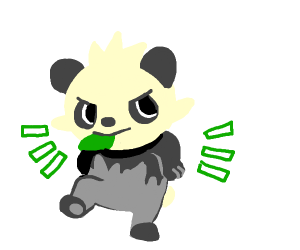 Panchum from Pokemon