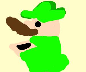 Luigi toilet
