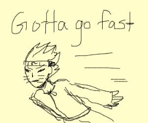 Naruto-running