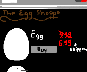 Shop for eggs online (or else!)