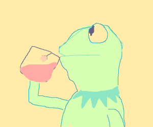 kermit sipping tea meme