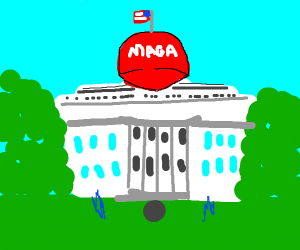 the white house during trumps presidency