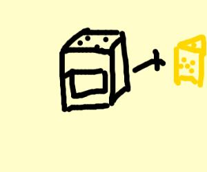 Baking cheese