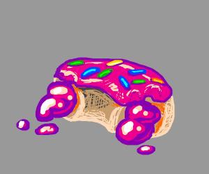 Bitten-Out-Of Doughnut