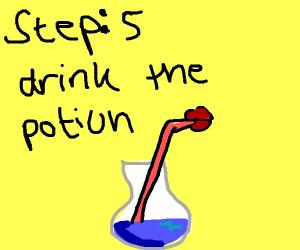 Potion tutorial (step 4)