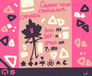 Canada as an indie video game