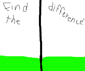Find the difference  (grass color)