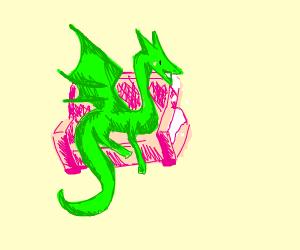 Dragon eating chair (wat)