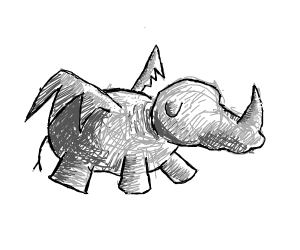 Winged Rhino