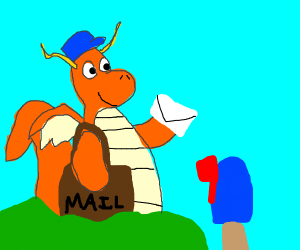 Dragonite has mail for you!