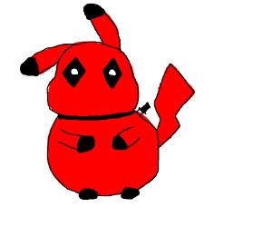 Deadpool Pikachu