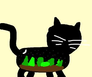 night in the woods cat