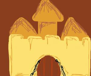 Sandbox castle