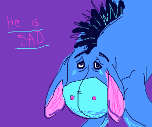 Sad Eeyore