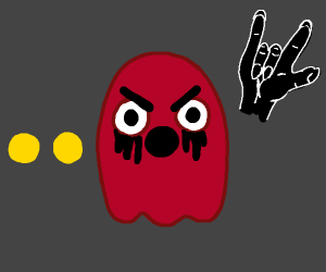 Packman ghosts in a metal band