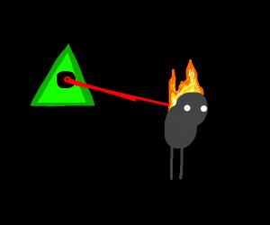 illuminati destroying people with fire