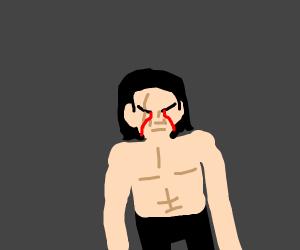 Kylo Ren cries blood