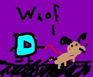 Oh! Drawception D has a dog!